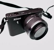 Nikon 1 J1 10.1MP Digital Camera - Black (Kit w/ VR 10-30mm Lens)