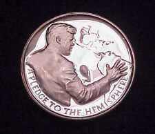"LEGACY OF JFK ""PLEDGE TO THE HEMISPHERES"" 1 OZ .999 FINE SILVER ART ROUND #1830"