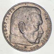 SILVER - WORLD Coin - 1935 Germany 5 Reichsmark - World Silver Coin *486