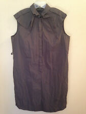 Hugo Boss button front shirt dress, size 14 (US); 50 (IT