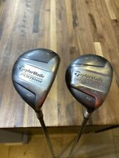 Taylormade 200 Steel 3 & 5 Woods R-80 Graphite Shafts