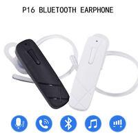 Oreillette Bluetooth stéréo sans fil casque mains libres 4,1 pour iPhone Samsung