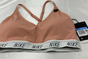 Nike Indy Sof Sport Bra Medium In Pink $35.00