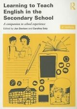 Learning to Teach English in the Secondary School - 4th edition - 9780415840293