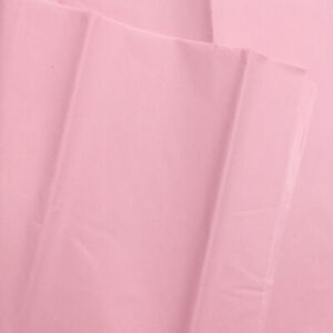 Light Pink Tissue Paper Sheets - Party Gift Box Bag Filler Bulk Packs 550x660mm