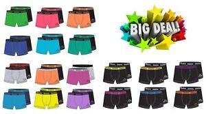 Kappa Boxershorts 10er Set Unterwäsche Herren Boxer Short Farbauswahl zufällig