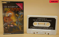Commodore c16/+4 original Datasette the return of Rockman - 1986 Mastertronic