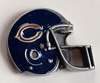 Vintage 1990's CHICAGO BEARS FOOTBALL HELMET LAPEL PIN Soldier Field NFL Mint!