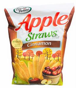 Sensible Portions Cinnamon Apple Straws 6 oz
