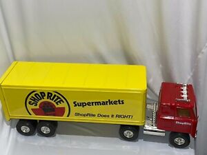 Large ERTL ShopRite Supermarkets Tractor Trailer Truck Vintage