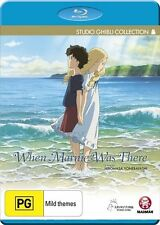 When Marnie Was There - Blu Ray DVD - Brand new & SEALED - Hiromasa Yonebayashi