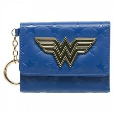 Wonder Woman Justice League Hero Movie Superman DC Comics Mini Tri Fold Wallet