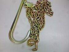 NEW!! B/A PRODUCTS TOW CHAIN WITH J-HOOK & GRAB HOOK & T-HOOK, N711-6B
