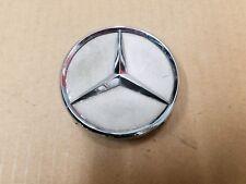 "Mercedes OEM S430 S500 S600 3"" Chrome Silver Center Cap Hub Cover 220 400 01 25"