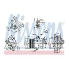Fits Suzuki Splash 1.3 CDTI Genuine OE Quality Nissens A/C Air Con Compressor