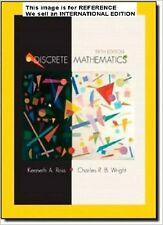 Discrete Mathematics by Charles R. Wright, Kenneth A(2002)(Int' Ed Paperback)5 E
