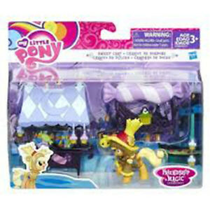 My Little Pony Friendship is Magic Collection Sweet Cart With Applejack