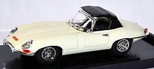 Jaguar E-Type AraignéE Soft Top 1961-64 blanc blanc 1:43