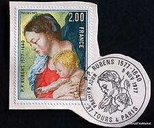 TIMBRE FRANCE OBL. 1° JOUR  Yt 1958 TABLEAU DE RUBENS