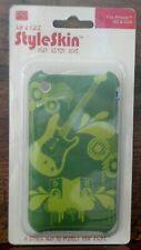 NRFP iPhone Style Skin HARD CASE Fits 3G & 3GS Green Guitar and Speakers NICE