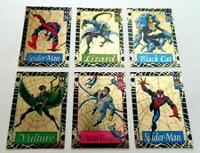 1994 Amazing Spider-Man WAL-MART GOLD WEB Chase Insert set - VERY RARE!