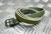 Genuine Vintage Military Leather Alpine Pack / Utility Strap / Nordic Pack Strap