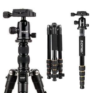 Q666 Zomei Portatif D'aluminium Trépied Monopod pour Appareil Photo DSLR Nikon