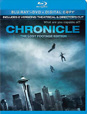 Chronicle   *New* (Blu-ray/DVD, 2012, 2-Disc Set, The Lost Footage Edition