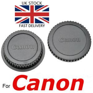 Canon EOS EF EF-S NEW Body and Rear Cap set Film / Digital SLR Cameras UK Seller