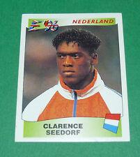 N°84 SEEDORF NEDERLAND PAYS-BAS PANINI FOOTBALL UEFA EURO 96 EUROPE EUROPA 1996