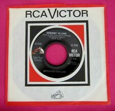 JEFFERSON AIRPLANE - Somebody to Love - super clean 45 rpm - RCA 9140