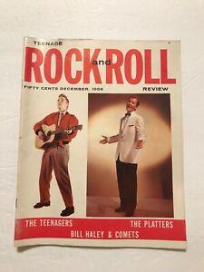Elvis Presley Rock and Roll Dec 1956 Pat Boone, Platters, Duke Ellington