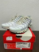 3*57 Nike Air Max Plus White/Platinum/Black Size 8.5