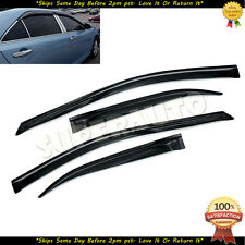 For 2012-15 Toyota Camry Smoked Vent Window Visors Deflectors TOYOTA CAMRY 13 15