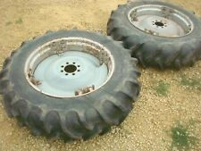 1955 Ford 960 Tractor Power Adjust Spin Out Rims Amp Tires 124 28 800 900