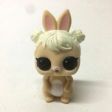 LOL Surprise Pets COTTONTAIL QT Bunny Beige Rabbit STORYBOOK Club Figure