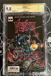 Venom #6 2018 Marvel Comics 9.2 CGC SS signed Donny Cates Ryan Stegman Knull