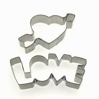 WTF Cookie Cutter Funny Word Biscuit Fondant Pastry Baking mold