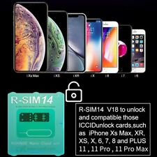 R-SIM12 V16 14 V18 R-SIM Unlock Card Fit For IPhone XS X 6 7 8 Plus IOS 13 US