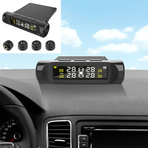 LCD Car TPMS Tyre Pressure Monitoring System Sensor Kit Rear-time Monitoring