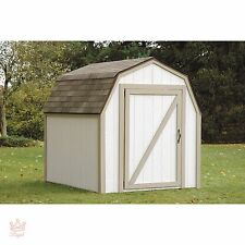 New listing Shed Kit Outdoor Storage Garden Wood Backyard Utility Tool Lawn Building Yard