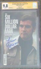 Six Million Dollar Man: Season Six #5__CGC 9.8 SS__Signed by Lee Majors