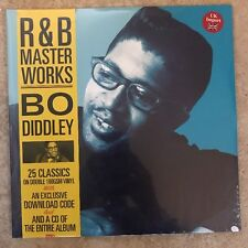 "BO DIDDLEY:""R&B Master Works""-25 CLASSIC SONGS:NEW-2 LP SET-IMPORT+CD+ DOWNLOAD"