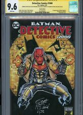 RED HOOD Sketch cover art by SCOTT MCDANIEL CGC SS 9.6 DC Comics Batman