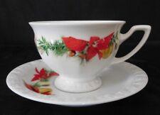 Rosenthal Maria Winter Rose 6 Kaffeetassen & Untertassen 12 tlg . Neuware
