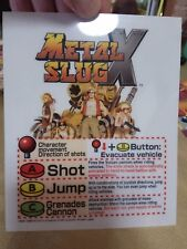 METAL SLUG X MINI MARQEE ORIGINAL NEO GEO MVS
