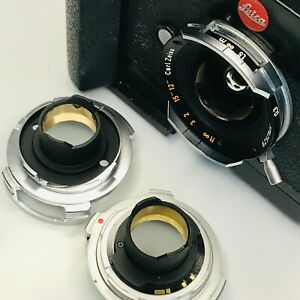 Contax G 16 hologon lens adapter to Leica M