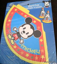 Mickey Mouse Cuties Party Supplies HATS Birthday Decoration Favors Treat 12 Baby