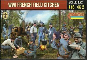 Strelets 1/72 (20mm) WWI French Field Kitchen