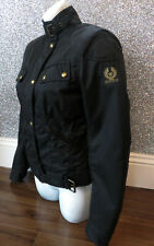 Ladies BNWT Belstaff PURE MOTORCYCLE Birkins Bend Nylon Biker Jacket IT 40 Small
